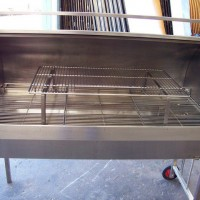 Roaster Oven including Gas