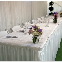 Bridal Table & Flounce