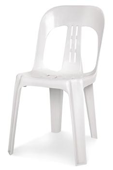 White Plastic Barrel Chair C2c Event Hire